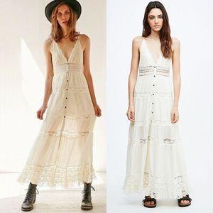 NWOT Kimchi Blue Lace Bohemian Maxi Dress